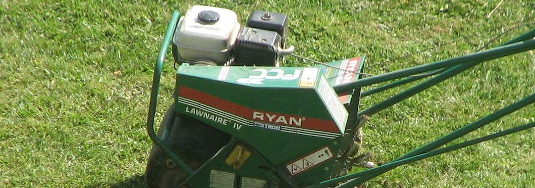lawn scarifier model