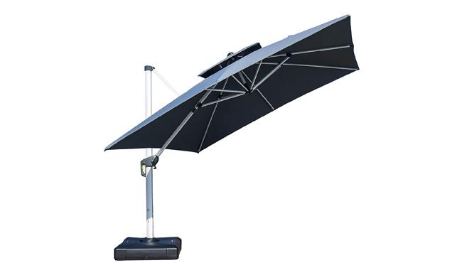 PURPLE LEAF Square Crank Cantilever Parasol