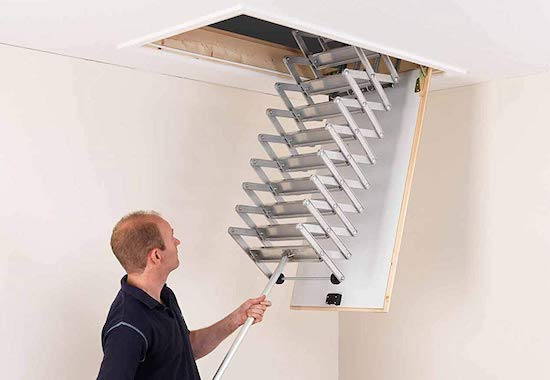 Alufix 9-Tread Concertina Loft Ladders Best