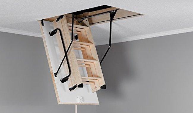 Aurora Thermo Folding Timber Loft Ladder
