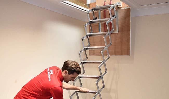 BPS Access Concertina Unique Loft Ladder