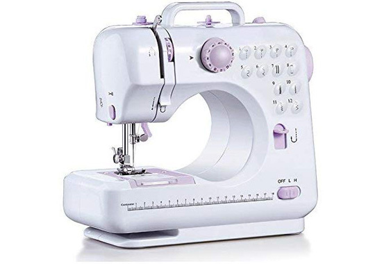 Barbieya Sewing Machine-12 Stitch Patterns Foot Best