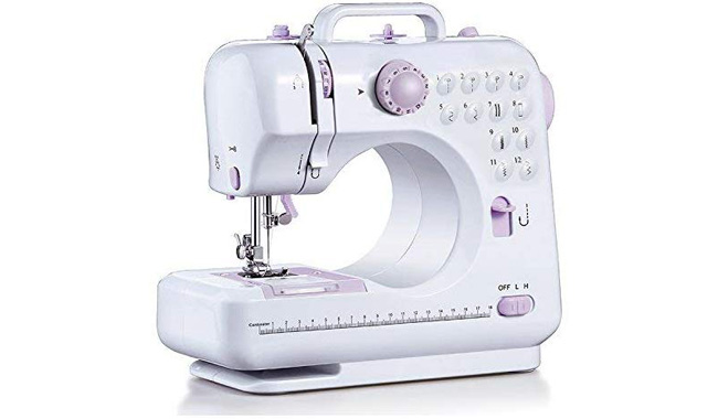 Barbieya Sewing Machine-12 Stitch Patterns Foot
