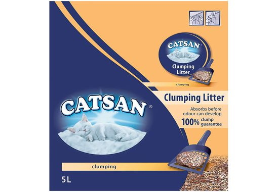 Catsan Clumping cat litter Val