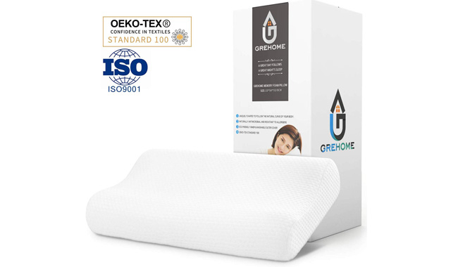 GREHOME Memory Foam Pillow