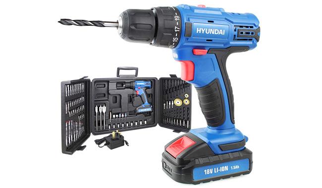 Hyundai HY2175 18V Cordless Drill