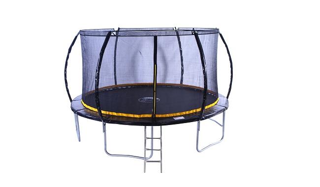 Kanga Premium Trampoline With Safety Enclosure, Net, Ladder And Anchor Kit