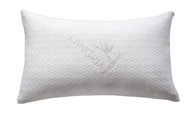 LANGRIA Neck Sleeping Pillow