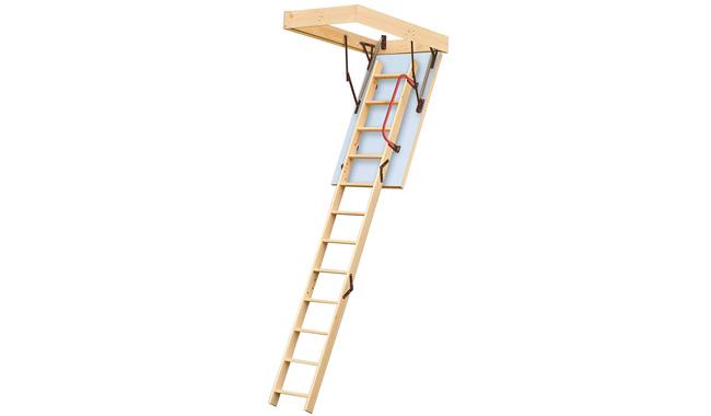 Lyte Easiloft 3 Section Timber Loft Ladder