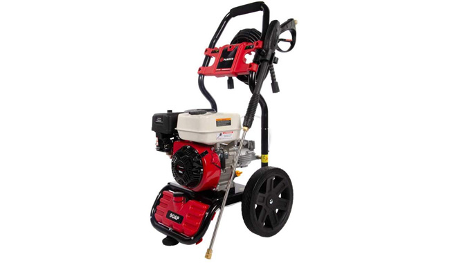 ParkerBrand Petrol Pressure Washer - 208cc Engine - 3100 PSI