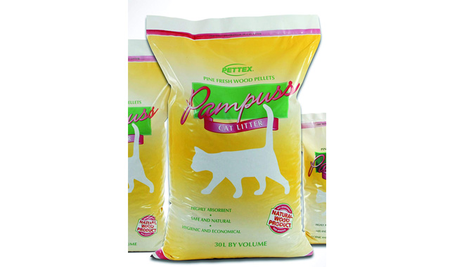 Pettex pampuss cat litter