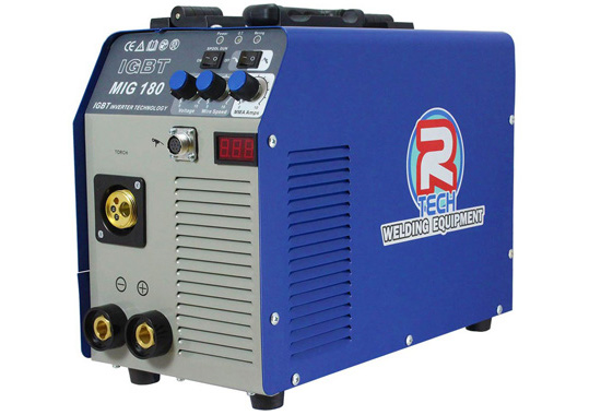 R-Tech Welder 180A 240V Portable Inverter, Inc. Torch & Leads Premium