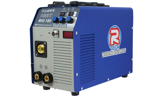 R-Tech Welder 180A 240V Portable Inverter, Inc. Torch & Leads