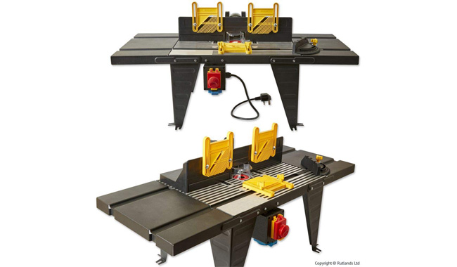 Rutlands Router Table with NVR Switch