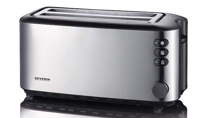 Severin Automatic 4-Slice Long Slot Toaster