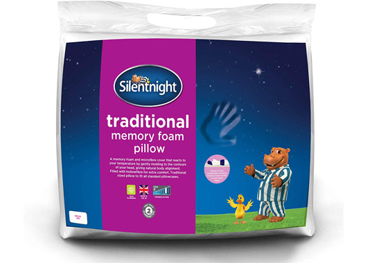 Silentnight Memory Foam Pillow Value