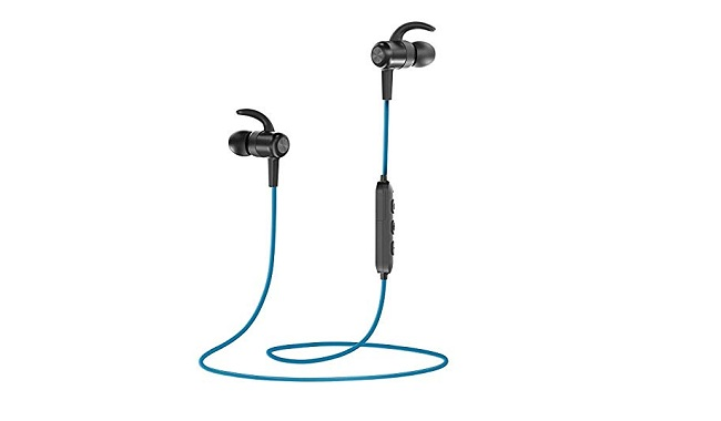 TaoTronics Bluetooth Headphones, 4.2 Wireless Earbuds