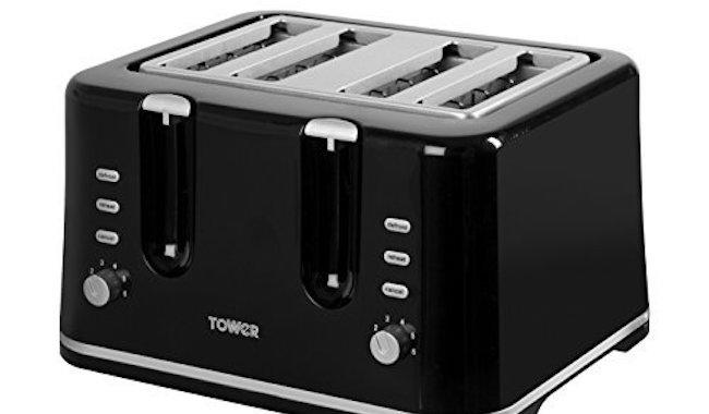 Tower Essentials 4-Slice Toaster