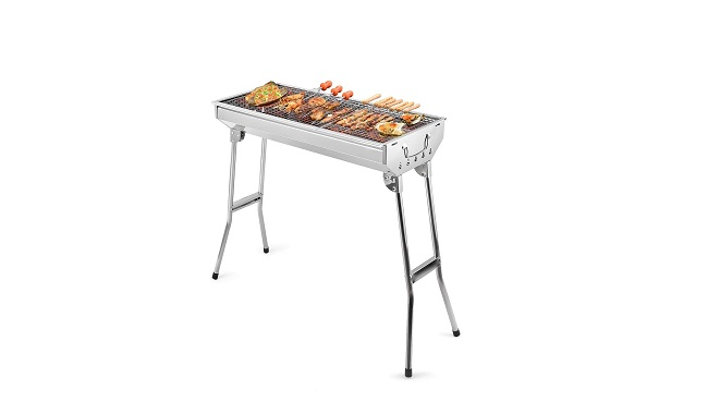 Uten Stainless Steel BBQ Charcoal Grill Smoker