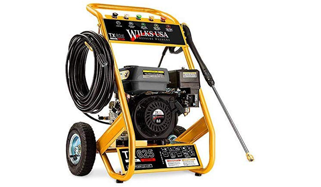 Wilks Genuine USA TX625 Petrol Pressure Washer