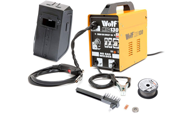 Wolf Portable Turbo Mig Welder 230v DC No Gas