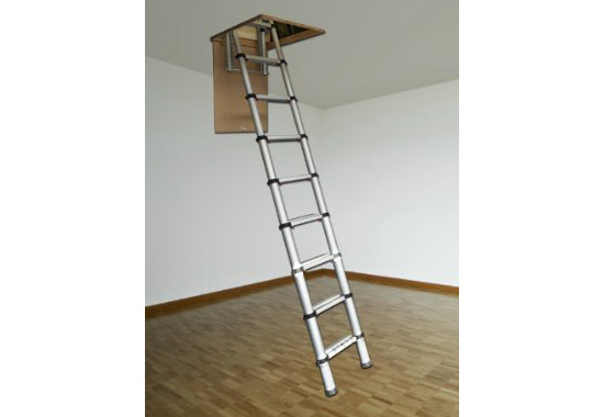 Youngman 301001 Telescopic Loft Ladder Premium
