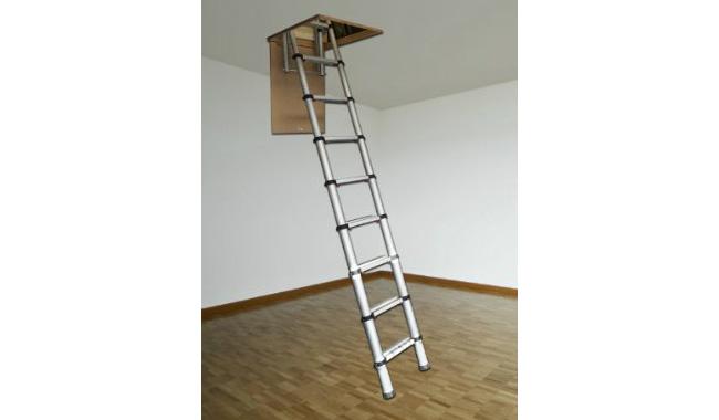 Youngman 301001 Telescopic Loft Ladder