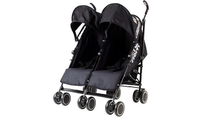 Zeta Citi TWIN Stroller Buggy Pushchair
