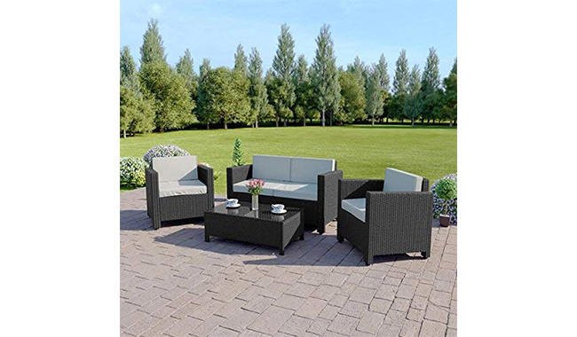 Abreo 4-Seater Garden Furniture