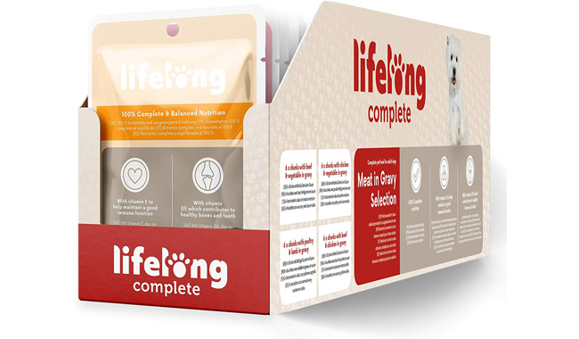 Amazon Brand - Lifelong Complete Pet Food For Adult Dogs