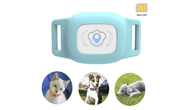 BARTUN Mini GPS Dog Cat tracker