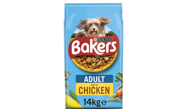Bakers Adult Dry Dog Food Chicken and Veg