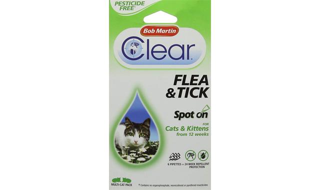 Bob Martin Clear 24 Weeks Flea And Tick Spot