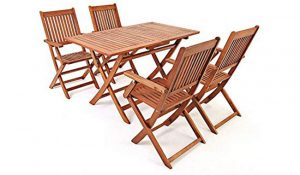 Britoniture Wooden Foldable Picnic Table