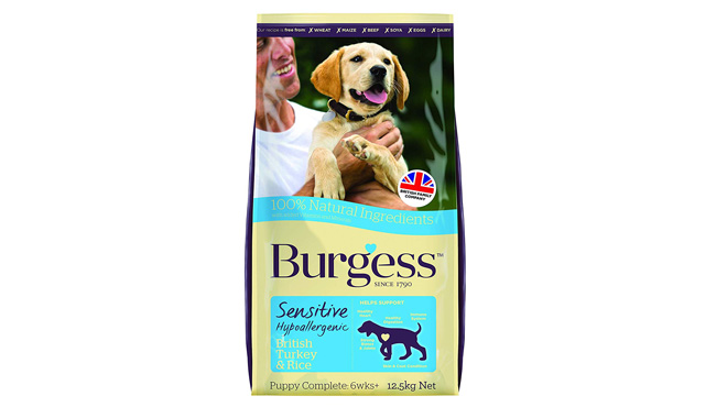 Burgess Sensitive Hypoallergenic Dog Food Puppy