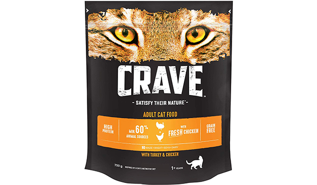 Crave cat dry food