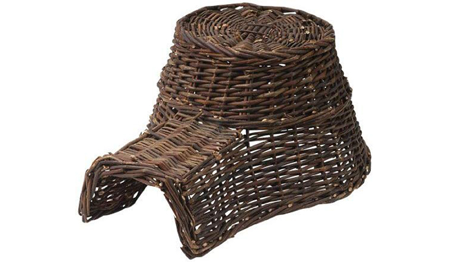 Esschert Design Wood Hedgehog Basket