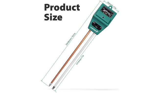 Fosmon Soil pH Tester Kit