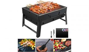 GolWof Charcoal Barbecue Grill
