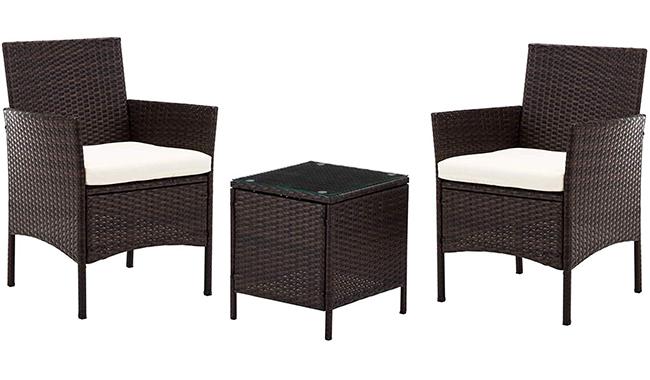 IntimaTe HELSINKI Wicker Rattan Outdoor Garden Furniture
