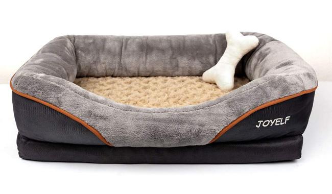 JOYELF Large Memory Foam Dog Bed