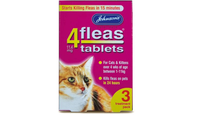 Johnson 4flea Treatment For Cats And Kittens