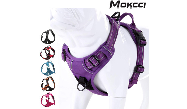 MOKCCI Soft Dog Harness