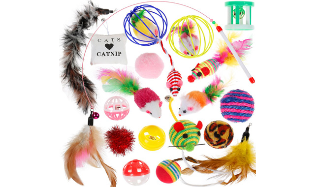 Nabance Cat and Kitten Toys