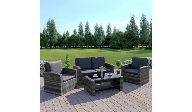 New Algarve Rattan Wicker Weave Garden Furniture