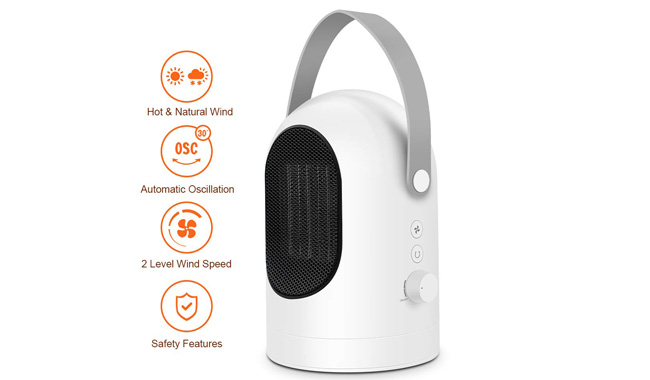 PEMENOL Portable Fan Heater