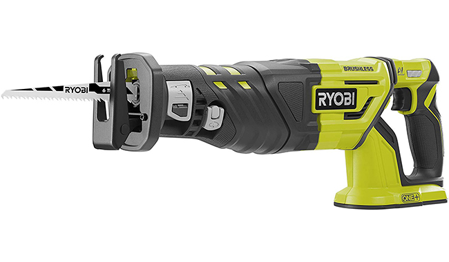 Ryobi R18RS7-0 ONE+ Cordless Brushless Recip Saw
