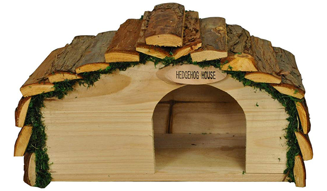 Selections Wooden Hedgehog House