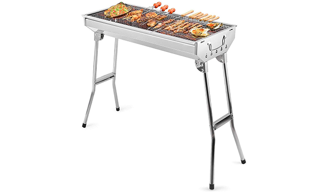 Uten Stainless Steel Charcoal BBQ