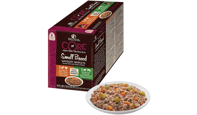 Wellness CORE Small Breed Savoury Medleys Wet Dog Food